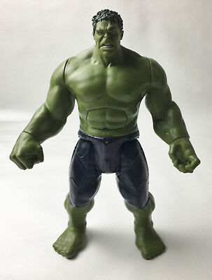 "Marvel Avengers 2015 Talking Incredible Hulk 12"" Action Figure Hasbro"