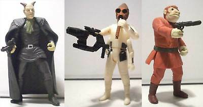 Star Wars Cantina Aliens Choose Nabrun Leids Labria Takeel Accessories Loose