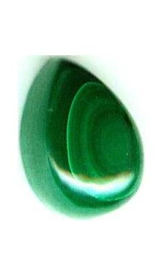 18thC Antique 4ct Malachite Ancient Roman Anti-Evil Talisman Gem of Venus Juno
