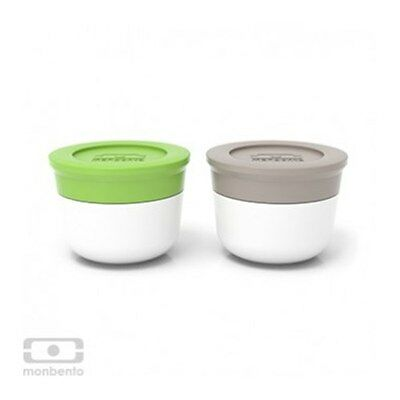 Monbento Mb Temple S Sauce Dressing Eco LunchBox Cups in Various colours *BNWT
