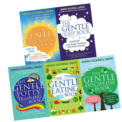Gentle Sleep Book Sarah Ockwell-Smith Parenting Discipline 5 Books Collection
