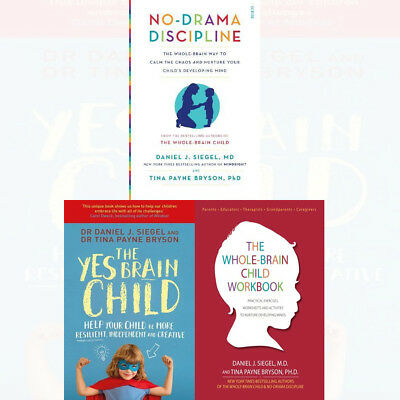 No-Drama Discipline Book Daniel J. Siegel The Yes Brain Child 3 Books Collection