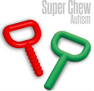 (2) Super Chew Autism Chewy Tubes Oral Motor Device Speech Therapy Special Need