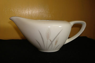 "Platinum Wheat  Fine China Of Japan  Ms  Creamer  2 1/2"" High"