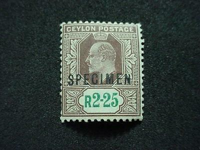 NobleSpirit (TH1) Wonderful CEYLON No. 177 Hinged Top-Of-Set SPECIMEN!!
