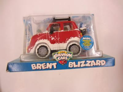 2006 The Chevron Cars BRENT BLIZZARD Eyes move Snowboard & Boots Little Fingers