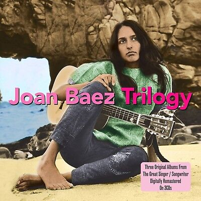Joan Baez - Trilogy 3 Cd Neu