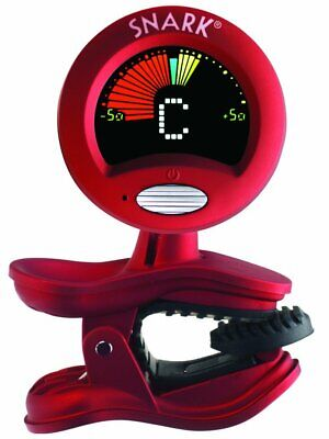 SNARK Chromatic Clip On Instrument Tuner and Visual Metronome Red