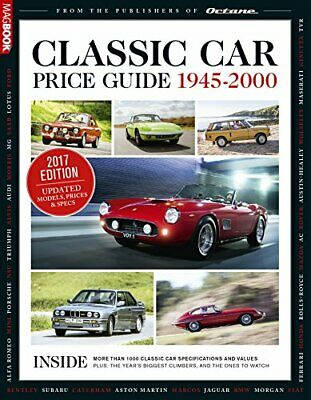 Classic Car Price Guide 2017 by Octane magazine Book The Fast Free Shipping