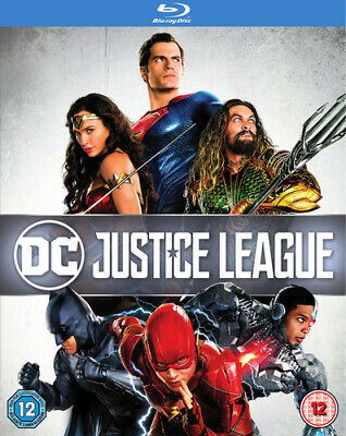 Justice League Blu-ray (2018) Ben Affleck, Snyder (DIR) cert 12 Amazing Value