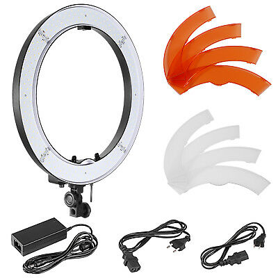 Neewer Studio 18 inches Outer Dimmable SMD LED Ring Light with Battery Holder