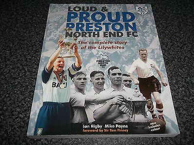 Book Football Loud & Proud Preston North End FC Complete Story of the Lilywhites