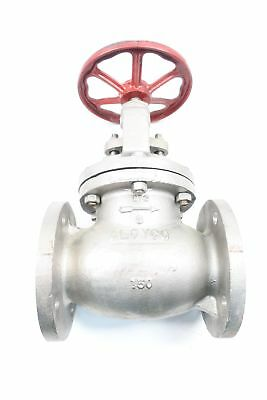 Aloyco 317 Manual Stainless Flanged 3in 150 Globe Valve