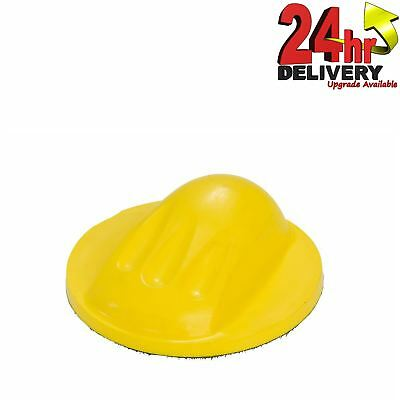 Fast Mover 150mm Soft Circular Foam Sanding Block With Hook and Loop Backing