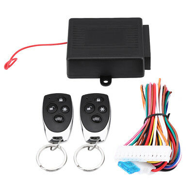Auto Car Keyless Entry Remote Control System Door Lock Central Locking Kit HH0