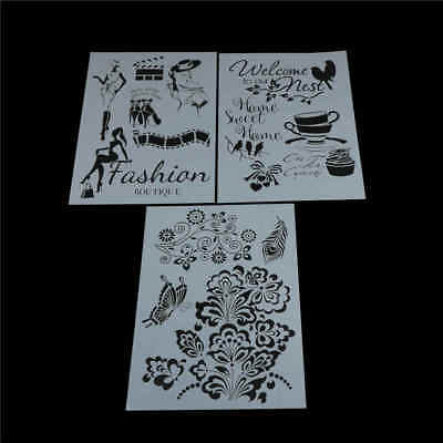 cup layering stencils for walls painting scrapbooking stamping stamp album-decor