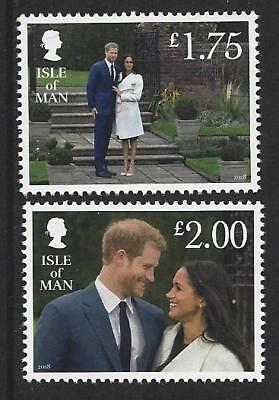Isle Of Man 2018 Harry And Meghan Engagement Unmounted Mint, Mnh