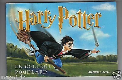 Livret de 16 cartes postales d'Harry Potter (H5412)