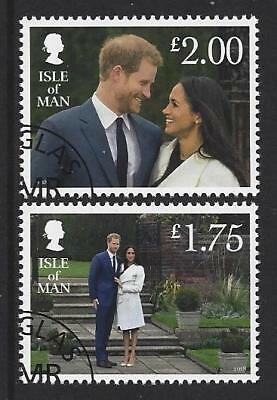 Isle Of Man 2018 Harry And Meghan Engagement Fine Used
