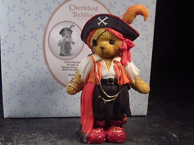 Cherished Teddies 2012 #4023633 JEAN Pirate Bear New Old Stock
