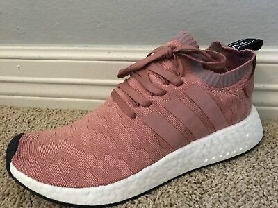 NEW WOMEN S ADIDAS NMD R2 PK Raw Pink Sneakers Running Shoes Sz 10 ... 6ac2129b11