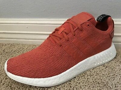 f059dff42 New in Box Men s ADIDAS NMD R2 Future Harvest Orange Sneakers Shoes Sz 11