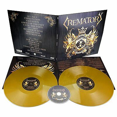 Crematory - Oblivion (Limited 2LP GOLD Vinyl + CD, Gatefold) 2018 Steamhammer