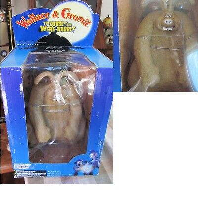 "Awesome McFarlane Wallace & Gromit 9"" Curse of the Were Rabbit Figure 2005"