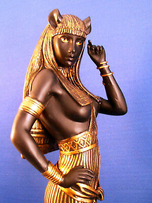 Egyptian Statue Goddess Bast Bastet Cat Woman in Provocative Post #8857