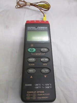 Omega Engineering HH309A Data Logger Thermometer