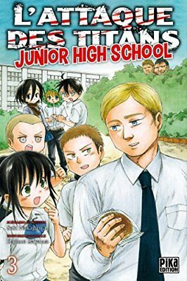 L'Attaque des Titans - Junior High School T03 Hajime Isayama Pika 176 pages