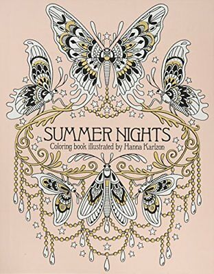 Summer Nights Coloring Book (Daydream Coloring Series) Hanna Karlzon Clr Csm