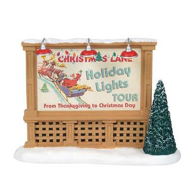 Department 56 General Village New 2018 CHRISTMAS FESTIVAL BILLBOARD 6001689
