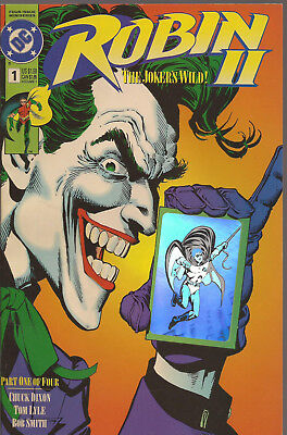 ROBIN II  # 1 * JOKER'S WILD * BRIAN BOLLAND cover * NEAR MINT