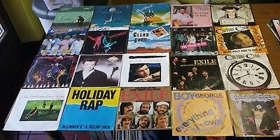 "20X Singles 7"" **collection 45 Vinyl Package #31 [70S 80S Pop Culture Club Elo.."