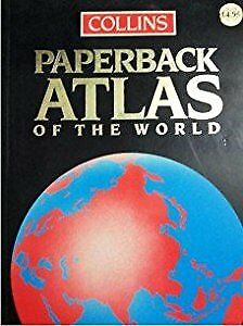 Collins Paperback Atlas of the World, , Used; Good Book