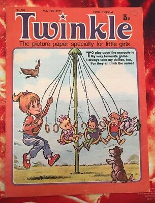 TWINKLE  COMIC NO. 381. 10 MAY 1975. With Dress Twinkle Page. VFN