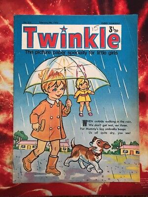 Twinkle  Comic No. 316. 9  Feb 1974. Dress Twinkle Page. Puzzles Not Done. Vfn+