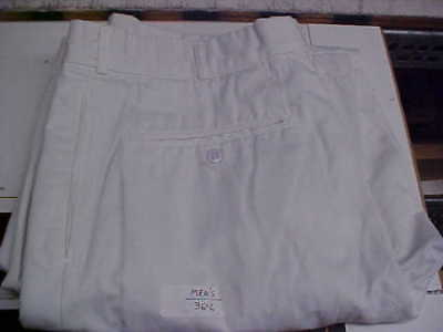 50% OFF Navy Sea Cadet Male Enlisted Dress Whites Pants Bell Bottoms 36L lc#W208