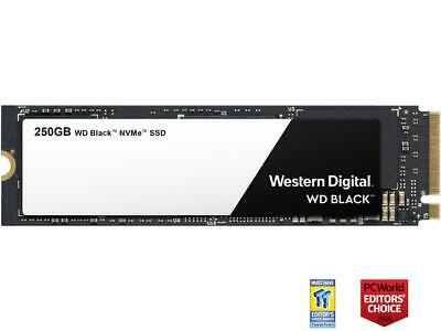 WD Black NVMe M.2 2280 250GB PCI-Express 3.0 x4 3D NAND Internal Solid State Dri