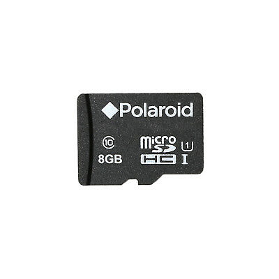 Polaroid 8GB MicroSDHC Class 10 UHS-I Memory Card for Cameras and Smartphones