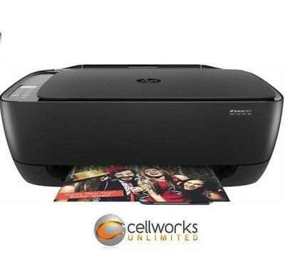 HP DeskJet 3637 Compact All-in-One Photo Printer with Wireless & Mobile Printing