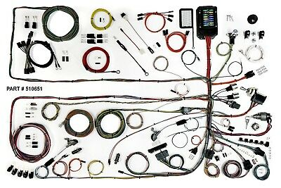 1957-60 ford truck classic update american autowire wiring harness kit  510651