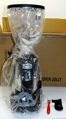 MAZZER SUPER JOLLY TIMER Coffee GRINDER-DOSER *NEW-in-BOX* Black -NoR- FreeShip!
