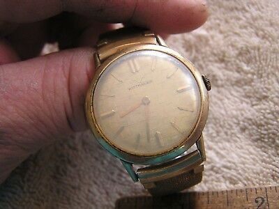 Wittnauer Watch Value >> Vintage Wittnauer Watch 17 Jewels 11bg 59 95 Picclick
