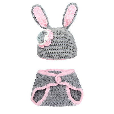 Baby Crochet Costume Knitted Photography Props Handmade Pretty Outfit Gift