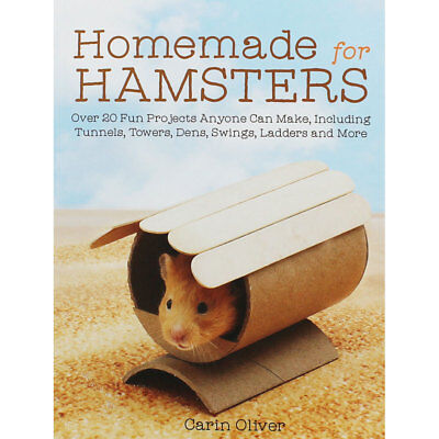 Homemade for Hamsters by Carin Oliver (Paperback), New Arrivals, Brand New