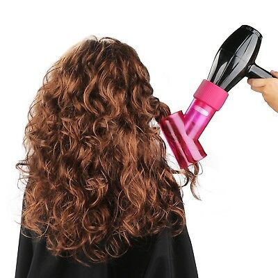 Segbeauty Wind Spin Hair Dryer Diffuser for Curly Wavy Permed Hair, Hair Blow Dr