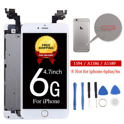 """LCD Display Touch Screen Digitizer Complete Replacement +Home for iPhone 6 4.7"""""""