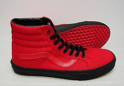 237d094906 VANS SK8 HI Reissue Black Outsole Racing Red Black VN0A2XSBLW0 Men's Size 11